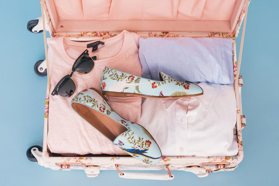 la valigia perfetta con 6Glam by anna Agosto